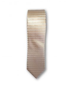 Cravata clasica motiv geometric 04 crem 123843